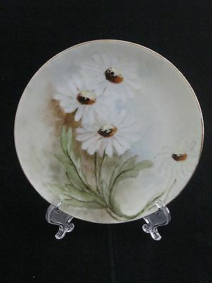 Antique Weimar Germany Hand Painted Fine Porcelain Dessert Plate Signed Roddy