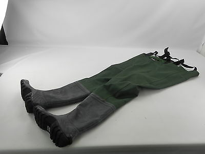 Frogg Toggs Mens Cascades 2-ply Bootfoot Chest Waders - Mallard Green - Size 9