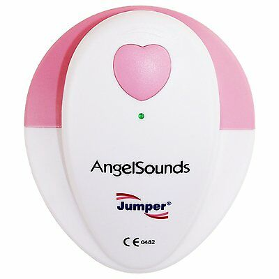 New Angelsounds Fetal Doppler Angel Sound Ultra Prenatal Baby Heart Monitor Gel