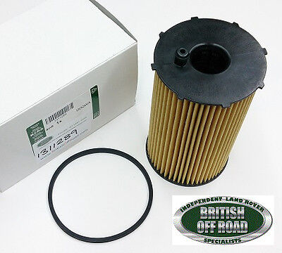 1311289 - Land Rover Oil Filter - Discovery 3 - Rr Sport - 2.7L Tdv6 - Genuine