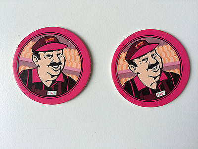 Rare Hard to Find DD Dunkin' Donuts POGS ADVERTISING