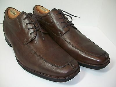 Belvedere Mens Shoes Oxfords Roma Brown Leather Size 13D