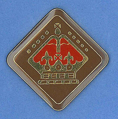 SCOUTS OF BELIZE - QUEEN'S SCOUT National Highest Rank Top Award Metal Pin Patch
