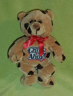 Advertising Nabisco CHIPS AHOY Cookies Plush Bear ~ Chocolate Chip Brown Fur