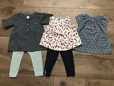 Lot Of Carters Clothing outfits Old Navy 12 Months Baby Girls