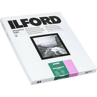 Ilford Multigrade FB Classic Gloss Variable Contrast Paper (8 x 10 In., 25 Shee