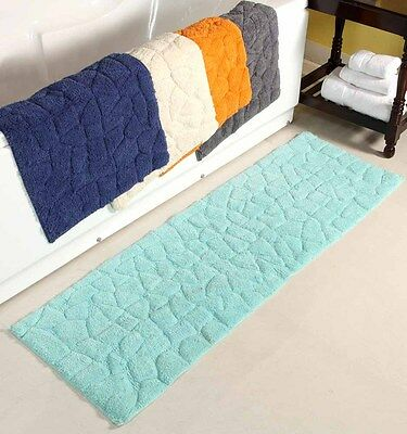 Rocks Cotton Bath Runner 50 x 150 cm - 5 Colors