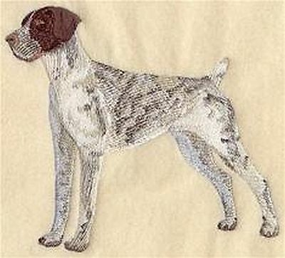 "German Shorthaired Pointer Dog  Embroidered Patch 6.4"" x 5.8"""