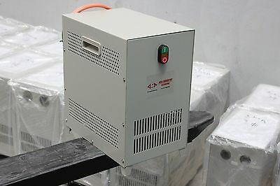 Upto 3 kW - Rotary phase converter 240V Single Phase to Three Phase 415V