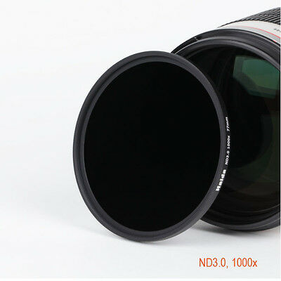 Haida 49/52/58/62/67/72/77/82mm ND3.0 ND1000 10 Stop Neutral Density Lens Filter