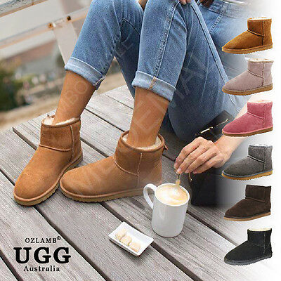 2018 New Premium Wool UGG Women/Men Classic Ankle-High/Short/Medium Boots