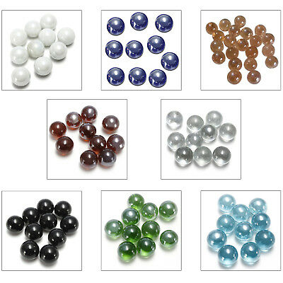 10 Pcs Marbles 16mm glass marbles Knicker glass balls decoration A4H4