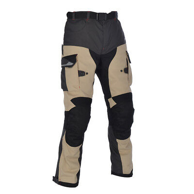 Oxford Montreal 2.0 MS Textile Motorbike Motorcycle Touring Trousers Desert