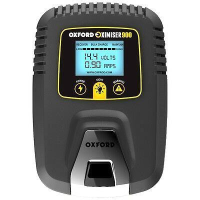 Oxford Oximiser 900 Euro Model Essential Battery Charger For ALL 12V Battery