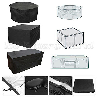 Black Garden Outdoor Patio Furniture Cover Superior Quality Covers Waterproof