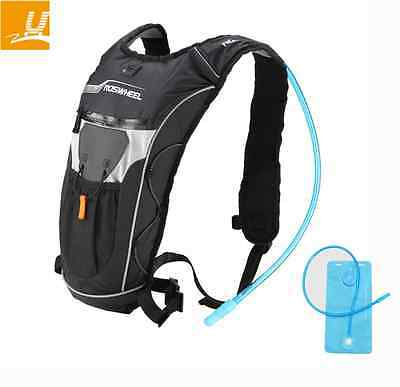 ROSWHEEL Outdoor Sport Bike Knapsack 4L Cycling Hydration Backpack 2L Water Bag