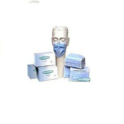Ear Loop Disposable Medical Surgical Procedure Mouth Face Mask (Blue,50pcs)