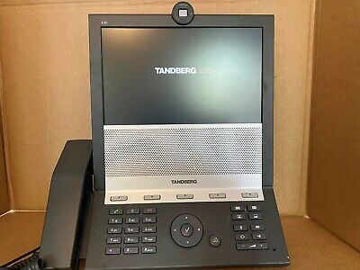 "Cisco Tandberg E-20 TTC7-16 VoIP 10.6"" LCD IP Video Conference Phone"