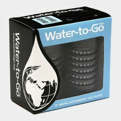 Water to Go Replacement Filters for 75cl Bottle- Twin Pack