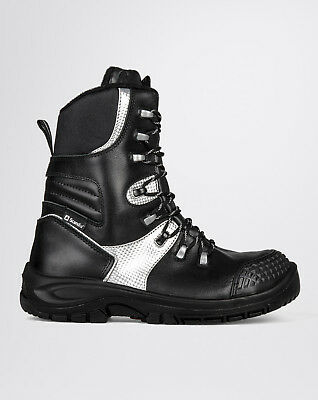 Mens Safety Boots Scandia Ice S3 Mod. Scan Ice High Zip Shoes