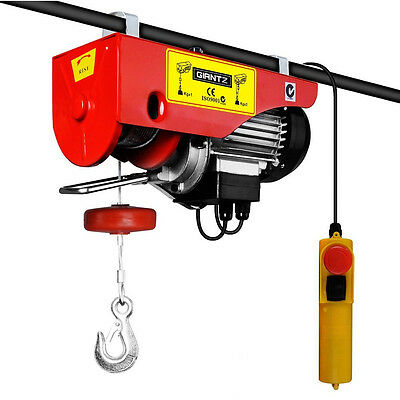 Giantz Electric hoist winch 18M 1000KG 8625373586