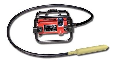 "Concrete Vibrator,Pro 1.5 HP,5' Flex Shaft,1"" Head, Made USA,Ship Next Day"