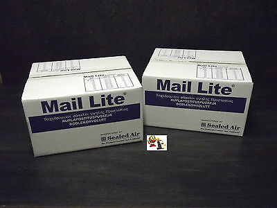 200 enveloppes bulle taille 150 x 210 Blanche MAIL LITE