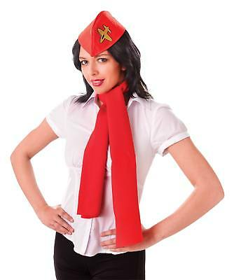FANCY DRESS Air Hostess Kit (Hat + Scarf)