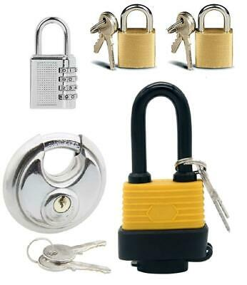 3 Digit Combination TSA Approved Metal Plastic Luggage Suitcase Padlock Safety