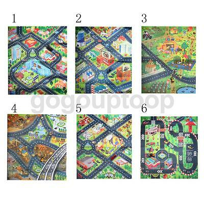 Various Life Scene Kids Crawl Play Mat Floor Activity Rug Blanket Baby Toy Gift