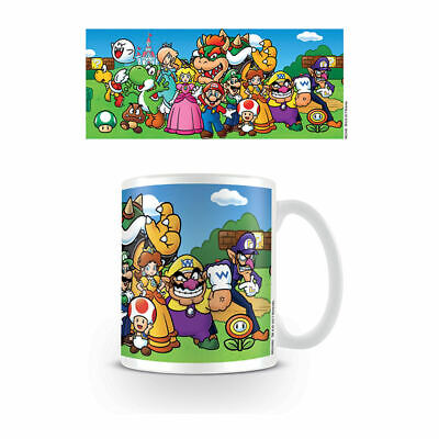 Super Mario Characters Mug Ceramic Coffee Tea Cup Wario