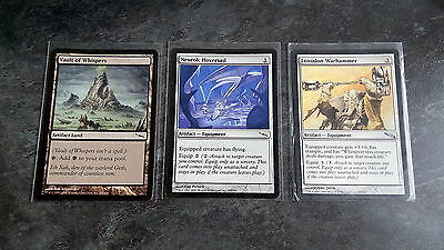 MTG - Artifact Cards Selection (Pack of three) (sleeved)