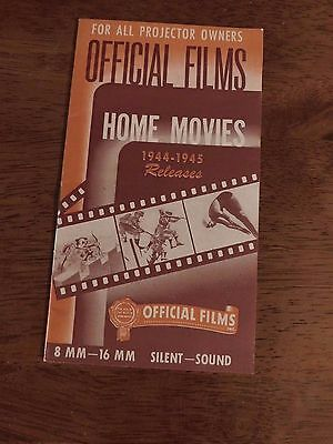 official films 1944 1945 Home Movies 8 mm 16 mm Price :List with still photos