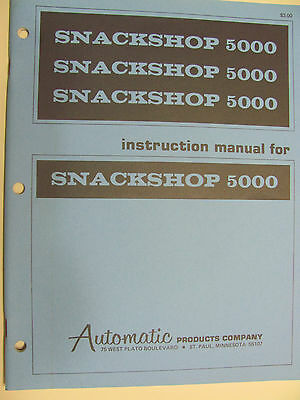 API Snackshop 5000 Vend instruction manual- 83