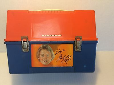 RARE to find in this condition 1980's Wayne Gretzky Aladdin Lunch Box & thermos
