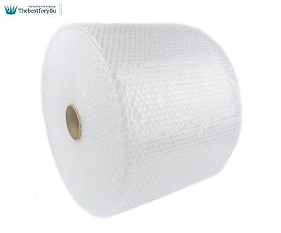 """Bubble Wrap 3/16"""" 350 ft. x 12"""" Small Padding Perforated Shipping Moving Roll"""