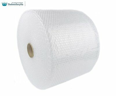 "Bubble + Wrap 3/16"" 175 ft. x 12"" Small Padding Perforated Shipping Moving Roll"