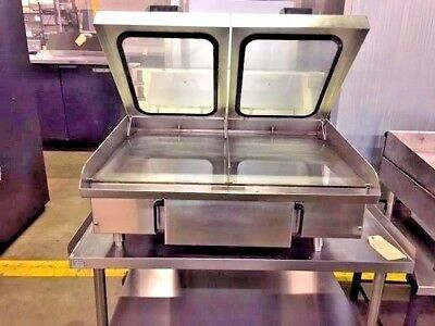 "American Griddle 3Ft-Gdr; Electric 36"" Steam Grill W/ Lids    #11478"