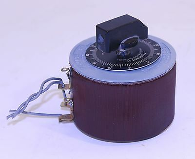 Type 10B Powerstat VARIABLE POWER Transformer SUPERIOR Electric 1.75 Amp