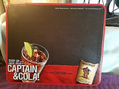 "2005 Captain Morgan Original Spiced Rum Embossed Metal Sign 18""W x 15""H"