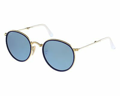 Ray-Ban RB3517 001/30 Unisex Silver Flash Lenses Gold Frame 51mm Lens Sunglasses