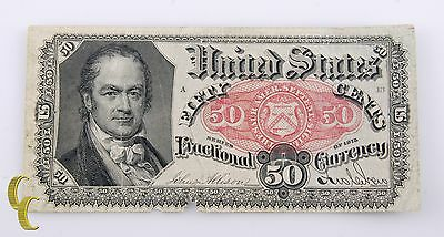 Series of 1875 United States Note 50 Cents Fractional Currency Allison/New