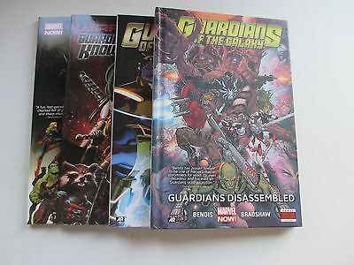 Lot Of 4 New Marvel Guardians Of The Galaxy Tpb's/hardcover