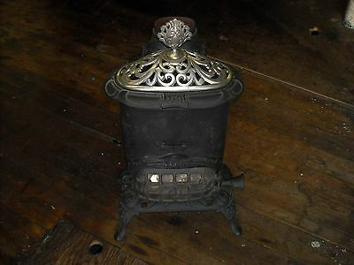 Antique heating stove.