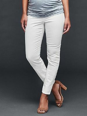 GAP AUTHENTIC 1969 MATERNITY INSET PANEL TRUE SKINNY JEANS PANTS $69.95  Size 4