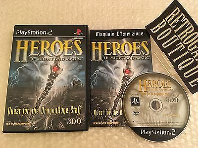 HEROES OF MIGHT AND MAGIC - PS2 ps3 Playstation 2 - PAL ITA - Ottimo