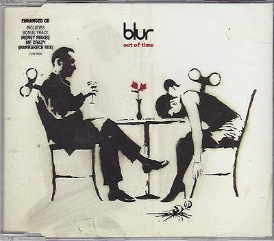 Blur - Out of Time cd maxi single incl video