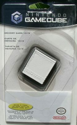 Nintendo GameCube Memory Card 1019 Blocks BRAND NEW Official Nintendo Product