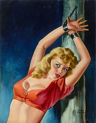 Peter Driben-The Captive, Canvas/Paper Print, Pinup Girl