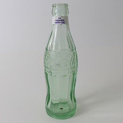 Coca Cola Hobbleskirt Bottle 6 oz Type: Valdosta, GA Georgia C26 C54